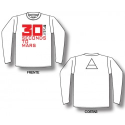 30 Seconds To Mars - Long Sleeve - Logo