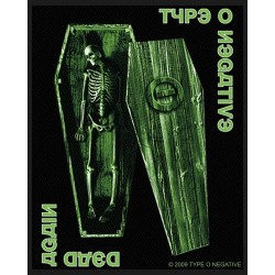 Type 0 Negative - Patch - Negative Coffin