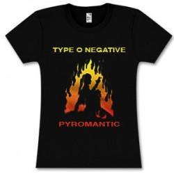 Type 0 Negative - T-Shirt - Pyromantic Babydoll