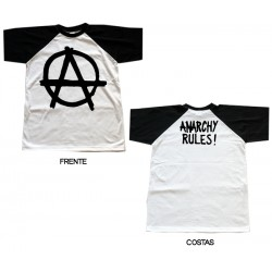 Anarchy Rules - T-Shirt - Logo