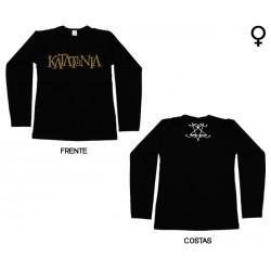 Katatonia - Long Sleeve de Mulher - Logo