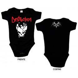 Destruction - Body de Bebé - Skull