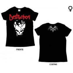 Destruction - T-Shirt de Mulher - Skull