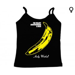 The Velvet Underground - Top de Mulher - Banana