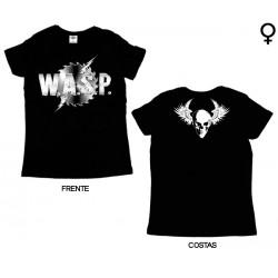 W.A.S.P - T-Shirt de Mulher - Logo