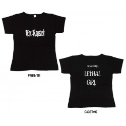 The Ransack - T-Shirt de Mulher - Be Ware...   Lethal Girl