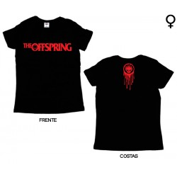 The Offspring - T-Shirt de Mulher - Flame Logo
