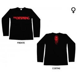 The Offspring - Long Sleeve de Mulher - Flame Logo