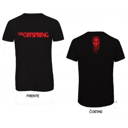 The Offspring - T-Shirt - Flame Logo
