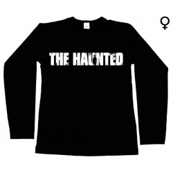 The Haunted - Long Sleeve de Mulher - Logo