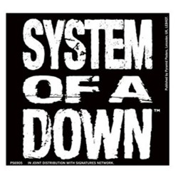 System Of A Down - Autocolante - Logo