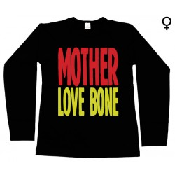 Mother Love Bone - Long Sleeve de Mulher - Logo