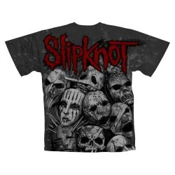 Slipknot - T-Shirt - Masks