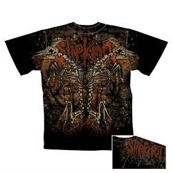 Slipknot - T-Shirt - Double Skeleton Goat