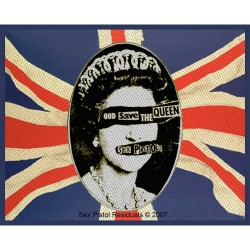 Sex Pistols - Patch - God Save The Queen