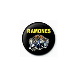 Ramones - Crachá - Cartoon