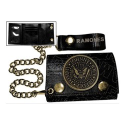 Ramones - Carteira - Metal Badge
