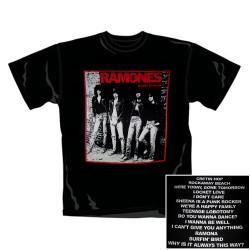 Ramones - T-Shirt - Rocket To Russia