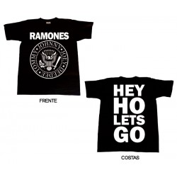 Ramones - T-Shirt - Hey Ho Lets Go