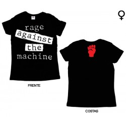 Rage Against The Machine - T-Shirt de Mulher - Logo