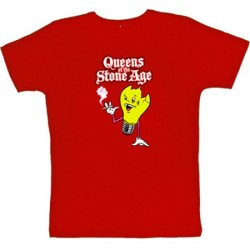 Queens of the Stone Age - T-Shirt - Smoking Bulb