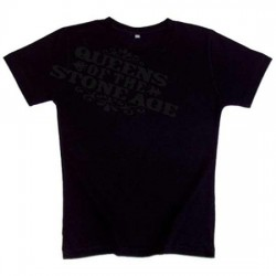 Queens of the Stone Age - T-Shirt - Crooked Logo