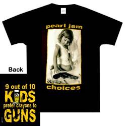 Pearl Jam - T-Shirt - Choises