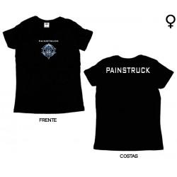 Painstruck - T-Shirt de Mulher - Logo