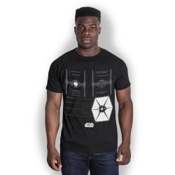 Star Wars - T-Shirt - Tie Fighter