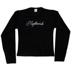 Nightwish - Long Sleeve de Mulher - Logo