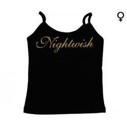 Nightwish - Top de Mulher - Gold Logo