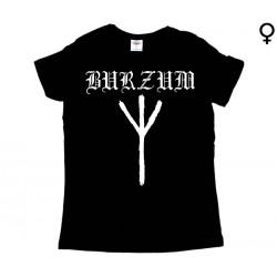Burzum - T-Shirt de Mulher - Rune