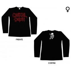Cannibal Corpse - Long Sleeve de Mulher - Logo