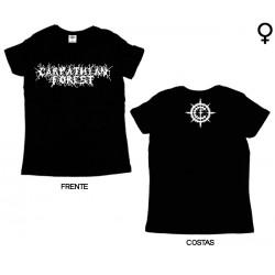 Carpathian Forest - T-Shirt de Mulher - Logo