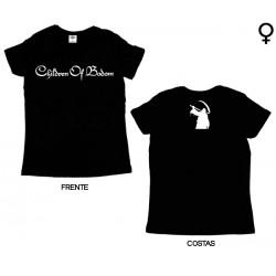 Children of Bodom- T-Shirt de Mulher - Logo