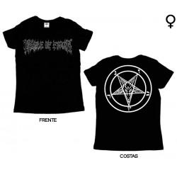 Cradle of Filth - T-Shirt de Mulher - Logo
