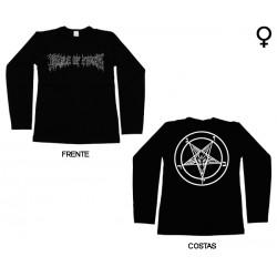 Cradle of Filth - Long Sleeve de Mulher - Logo