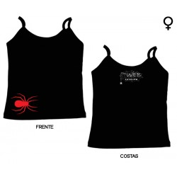 The Web Fashion - Top de Mulher - Red Spider
