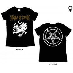 Cradle of Filth - T-Shirt de Mulher - Dragon