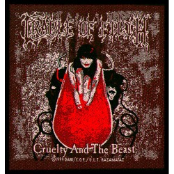 Cradle Of Filth - Patch - Cruelty