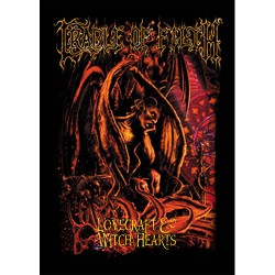 Cradle Of Filth - Patch - Lovecraft