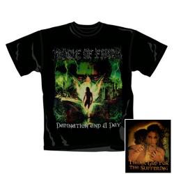 Cradle of Filth - T-Shirt - Damnation