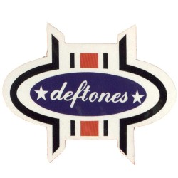 Deftones - Autocolante - Logo