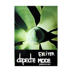 Depeche Mode - Poster - Exciter
