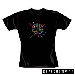 Depeche Mode - T-Shirt de Mulher - Sounds Of The Universe Album