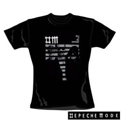 Depeche Mode - T-Shirt de Mulher - Striped Graphic