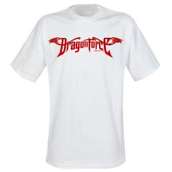 Dragonforce - T-Shirt - Red Logo