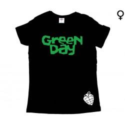 Green Day - T-Shirt de Mulher - Logo