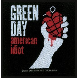 Green Day - Patch - American Idiot