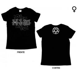 Him - T-Shirt de Mulher - Vine Tattoo